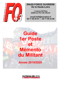 Couverture Guide 2019-2020